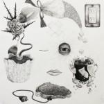 洋画専攻絵画コース2年 幻想細密画