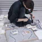 洋画専攻絵画コース2年 モザイク