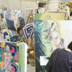 洋画専攻絵画コース1年生 人体