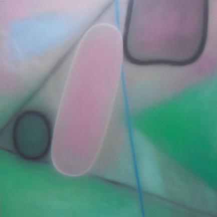 「Pink bottle」130.5×130.5 2018