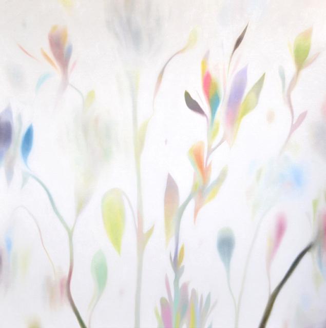 2015 花 90×90㎝ 油彩・キャンバス