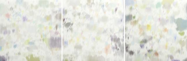 2011「三つの森」油彩・キャンバス 3枚組 各194x194cm