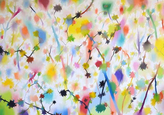 2014 木色 259×181㎝ 油彩・キャンバス