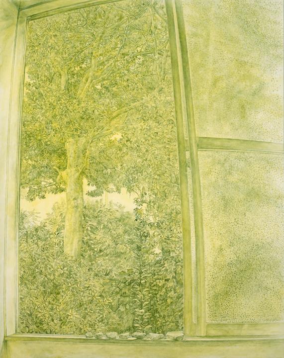 2003 紙、透明水彩絵具 114.5×91.5cm