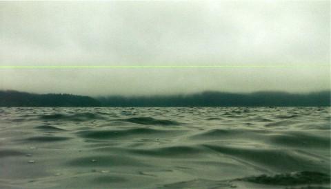 水平、線 - 湖上の実験 -
