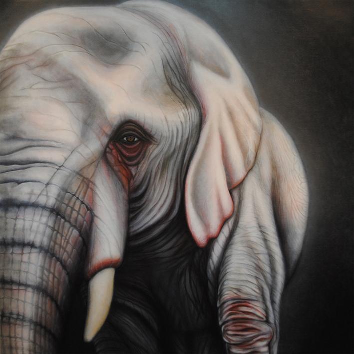 永世白象図