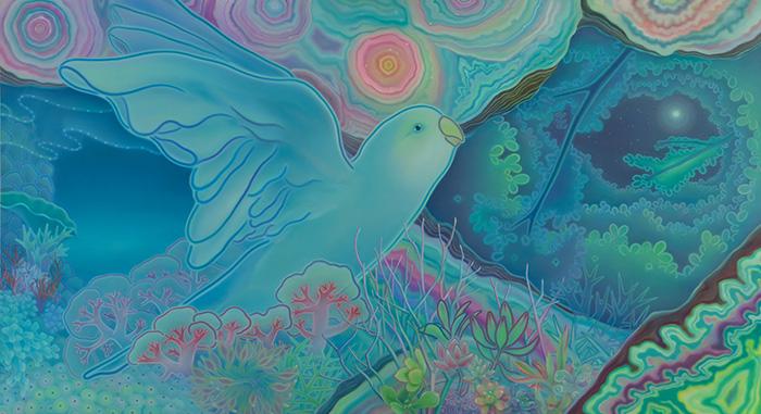 モウダイジョウブ 2012年 油彩 キャンバス 130.0✕237.0(cm)