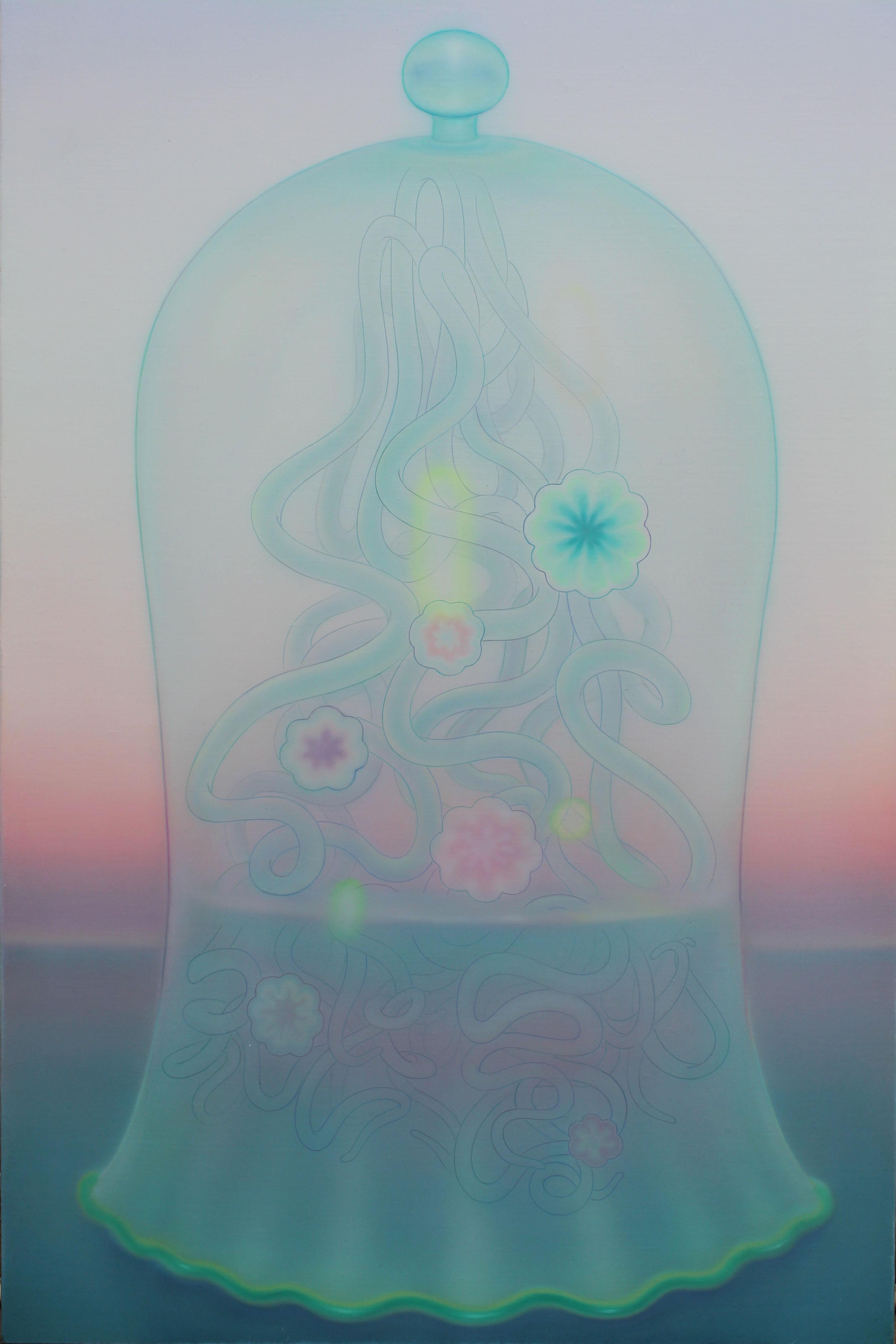 マアルイヨカン 2014年 油彩 キャンバス 91.0✕60.5(cm)