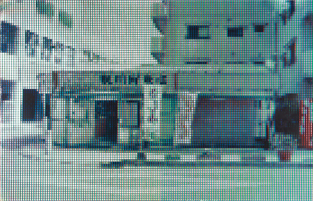 平凡な日常の断片IV/シルクスクリーン/2014