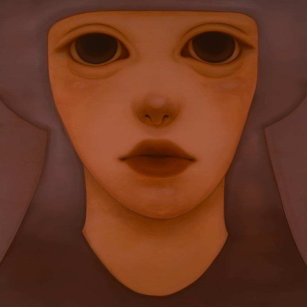 石井 杏奈 「あいきょうとあいきょう」 油彩、キャンバス 194×194cm  撮影 末正真礼生